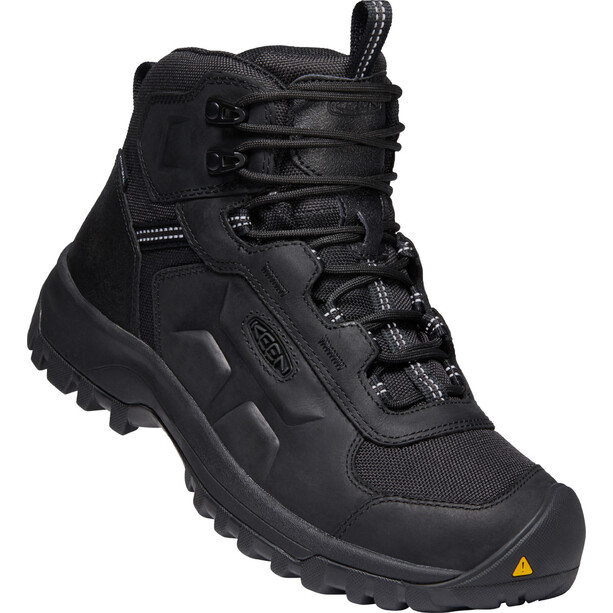 Keen Basin Ridge Mid WP Shoes Women black/raven