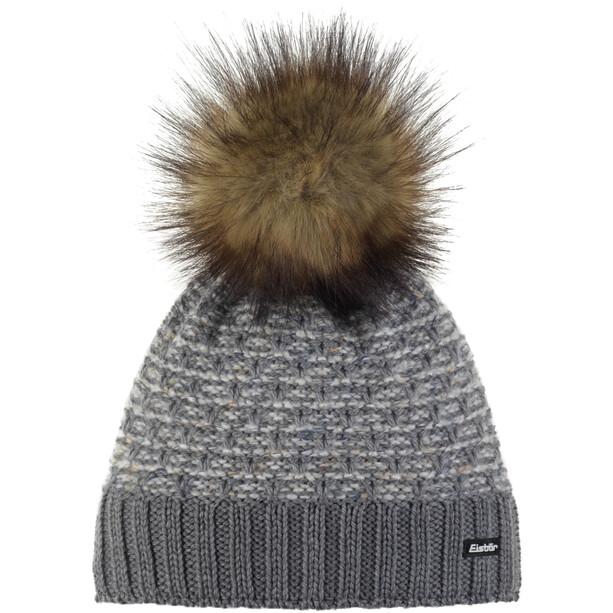 Eisbär Pansy Lux Mütze Damen grey mottled/nature/real