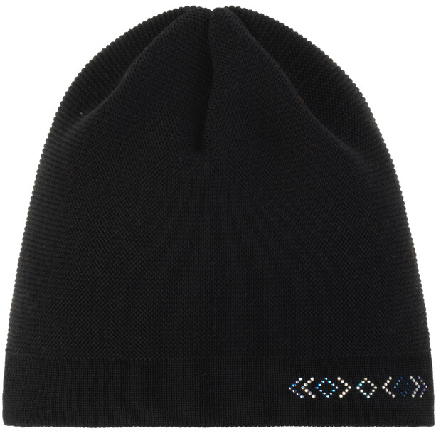 Eisbär Anya Crystal Oversize Mütze Damen black