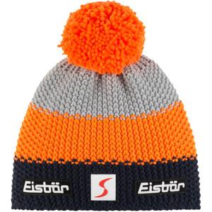 Eisbär Star Bommelmütze SP orange/grau orange/grau