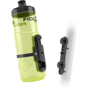 Fidlock Twist Flasche 600ml inkl. Base Fahrrad-Befestigung gelb/transparent gelb/transparent
