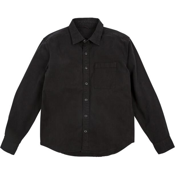 Topo Designs Dirt Langarmhemd Herren schwarz