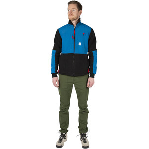 Topo Designs Subalpine Fleecejacke Herren blue/black blue/black