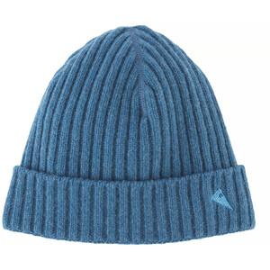 Klättermusen Barre Gerippte Mütze blau blau