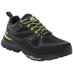 Jack Wolfskin Force Striker Texapore Low-Cut Schuhe Herren schwarz/gelb schwarz/gelb