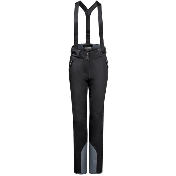 Jack Wolfskin Great Pantalon De Neige Femme, noir