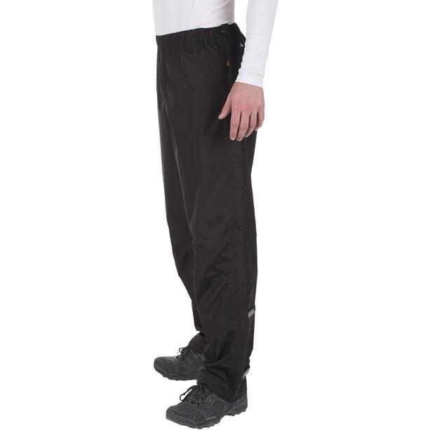 VAUDE Fluid II Full-Zip Hose Herren black