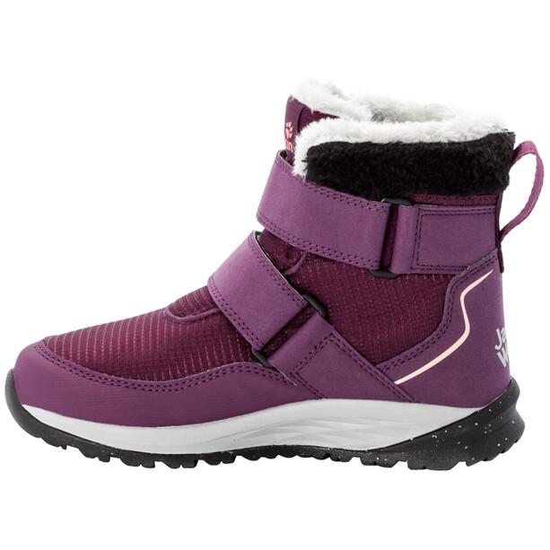 Jack Wolfskin Polar Wolf Texapore VC Mid-Cut Schuhe Kinder lila