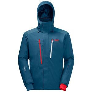 Jack Wolfskin Snow Summit Jacke Herren blau blau