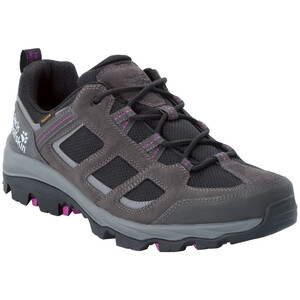 Jack Wolfskin Vojo 3 Texapore Low-Cut Schuhe Damen dark steel/purple dark steel/purple