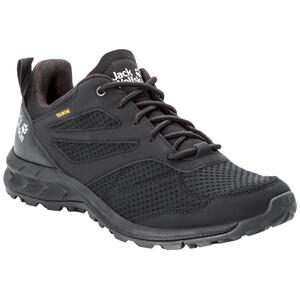 Jack Wolfskin Woodland Texapore Low-Cut Schuhe Herren schwarz schwarz