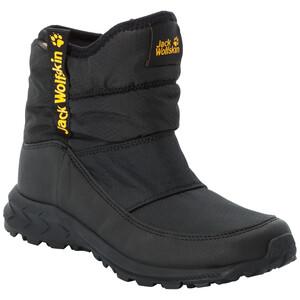 Jack Wolfskin Woodland Texapore WT Buty Dzieci, czarny/żółty czarny/żółty