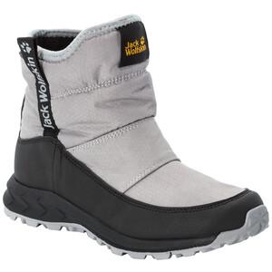 Jack Wolfskin Woodland Texapore WT Mid-Cut Schuhe Kinder grau/schwarz grau/schwarz