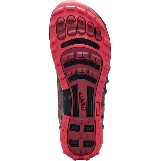 Altra Superior 4.5 Running Shoes Women, musta/vaaleanpunainen