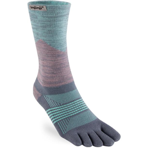 Injinji Trail Midweight Crew Socks Dam quartz