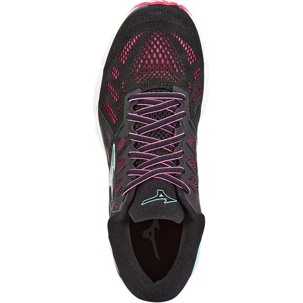 Mizuno Wave Ultima 11 Schuhe Damen black/fairy aqua/pink glo