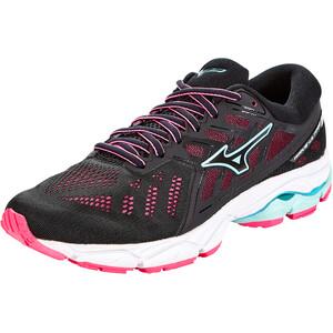 Mizuno Wave Ultima 11 Schuhe Damen black/fairy aqua/pink glo black/fairy aqua/pink glo