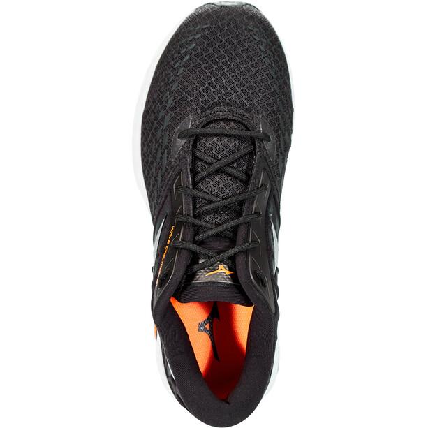 Mizuno Wave Creation 21 Schuhe Herren black/phantom/safety orange