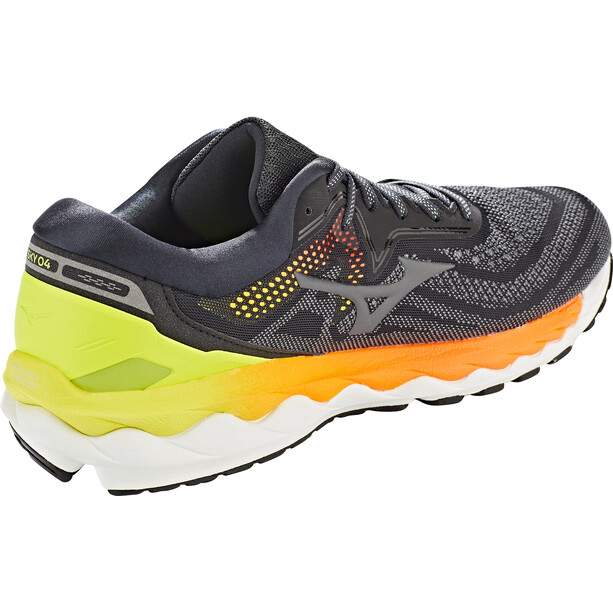 Mizuno Wave Sky 4 Schuhe Herren phantom/crock/safety yellow