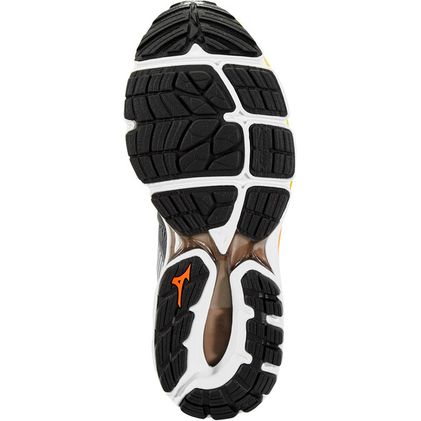 Mizuno Wave Inspire 16 Schuhe Herren castlerock/phantom/safety orange