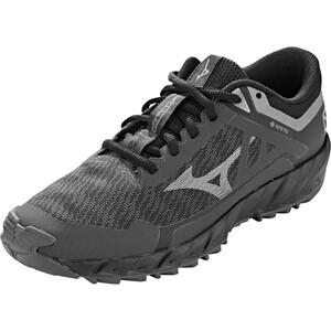 Mizuno Wave Ibuki 3 GTX Schuhe Damen schwarz/grau schwarz/grau