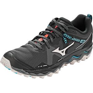 Mizuno Wave Mujin 7 Schuhe Damen magnet/crystal gray/safety blue magnet/crystal gray/safety blue