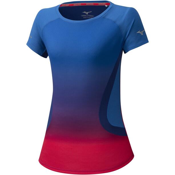Mizuno Aero T-Shirt Damen princess blue