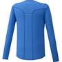 Mizuno Dry Aeroflow Half-Zip Langarmshirt Herren princess blue