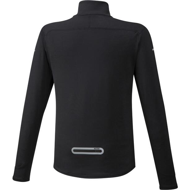 Mizuno Warmalite Half-Zip Langarmshirt Herren black