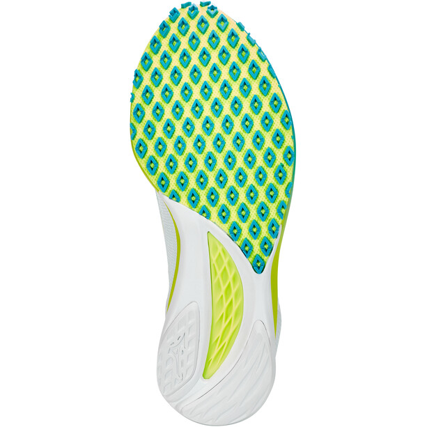 Mizuno Wave Duel 2 Schuhe Damen nibums cloud/syellow/scubablue