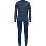 estate blue/grey melange/stripes
