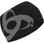 black/odlo steel grey