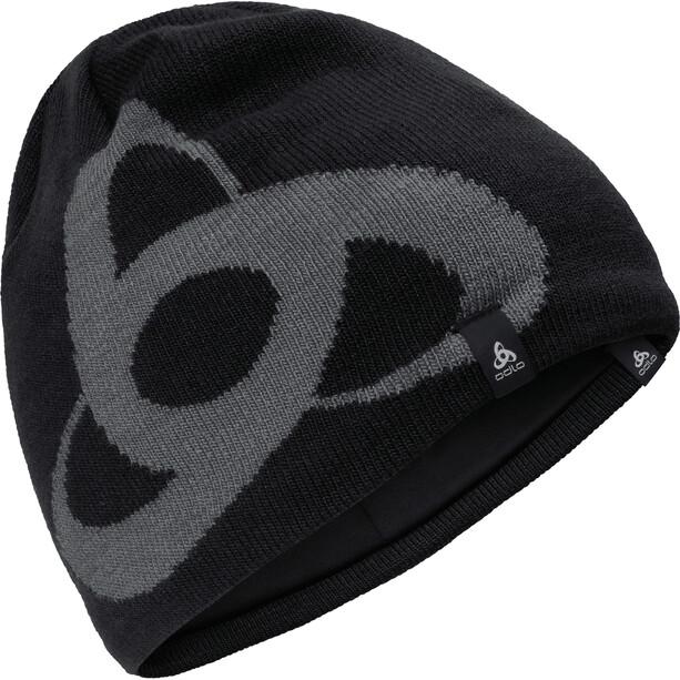 Odlo Ceramiwarm Pro Mid Gage Mütze black/odlo steel grey