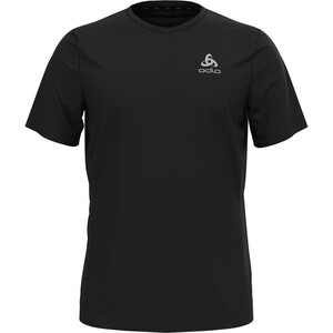 Odlo Element Light Print Rundhals Kurzarm T-Shirt Herren black black
