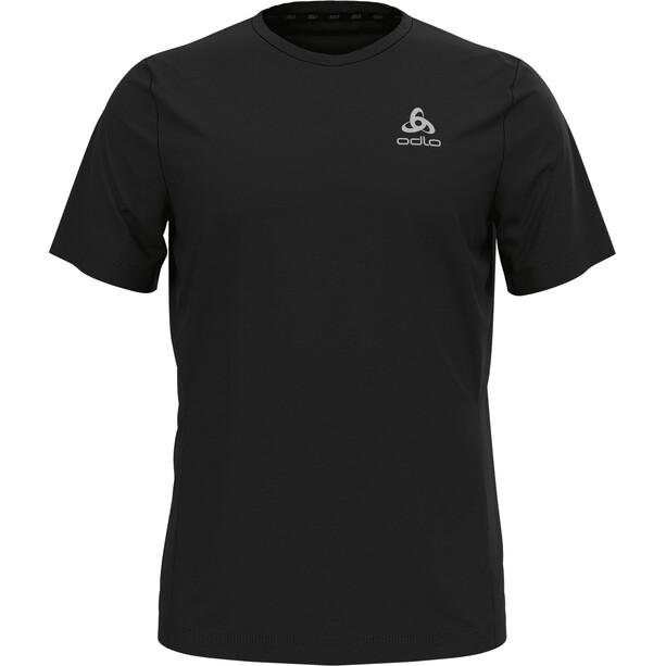 Odlo Element Light Print Rundhals Kurzarm T-Shirt Herren black