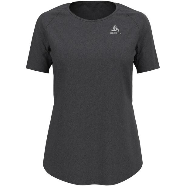 Odlo Millennium Element Rundhals Kurzarm T-Shirt Damen black melange