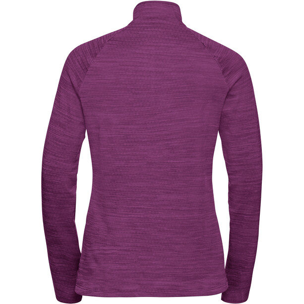 Odlo Millennium Element Midlayer 1/2 Zip Damen charisma melange