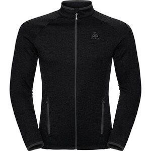 Odlo Proita Full Zip Midlayer Herren black black