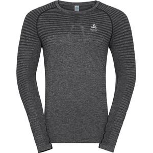 Odlo Seamless Element Rundhals Langarm T-Shirt Herren grey melange grey melange
