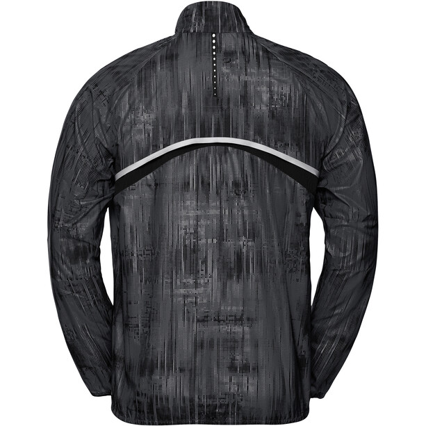 Odlo Zeroweight Print Jacke Herren odlo steel grey/graphic20