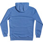 Quiksilver Square Me Up Screen Fleece Oberteil Herren blue yonder