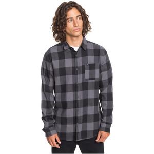 Quiksilver Motherfly LS Shirt Men, harmaa harmaa