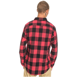 Quiksilver Motherfly LS Shirt Men, punainen punainen