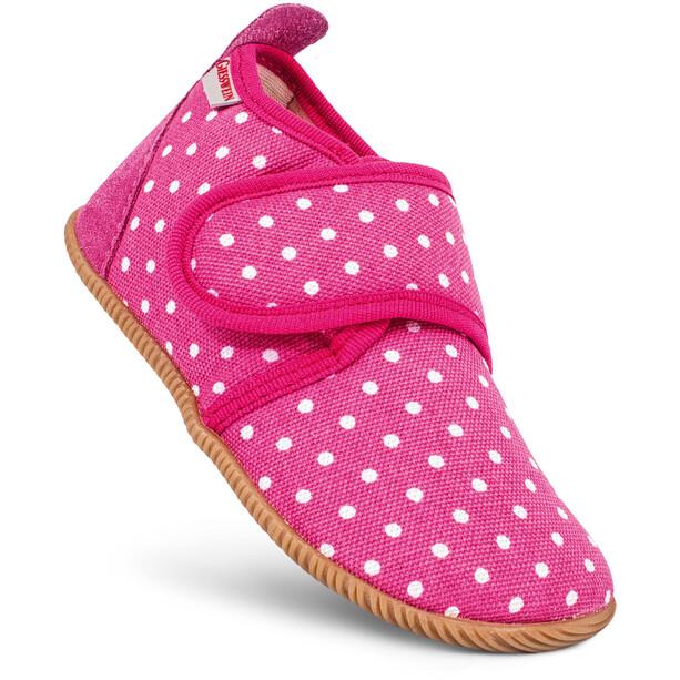 Giesswein Stans Slipper Slim Fit Kinder pink/weiß