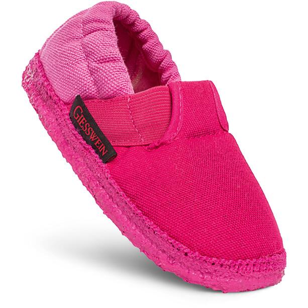 Giesswein Aichach Slipper Kinder pink