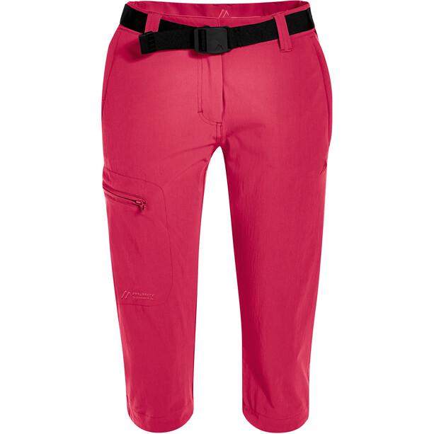 Maier Sports Inara Slim 3/4 Hose Damen pink