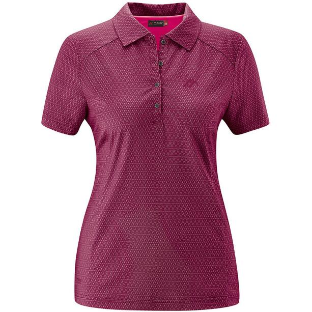 Maier Sports Pandy Polo Femme, violet