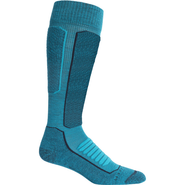Icebreaker Ski+ Medium Kniestrümpfe Damen arctic teal/midnight navy