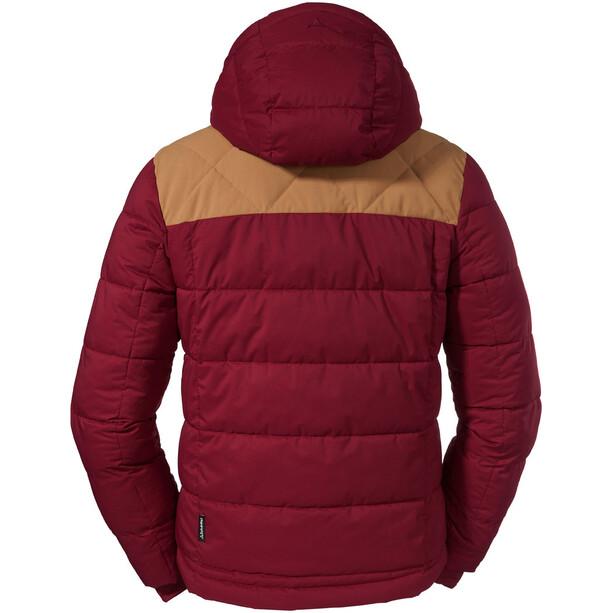 Schöffel Boston Isolierende Jacke Herren rot/beige