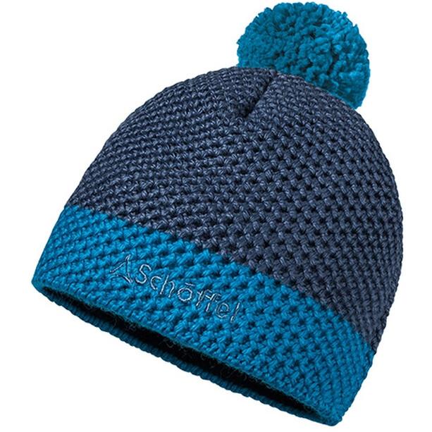 Schöffel Karspitz Strickmütze Damen blau